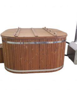 Kvadrat Vildmarksbad (Udvendig ovn)