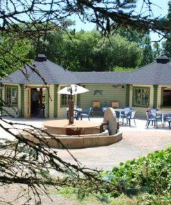 2 forbundet Pavillon 16.5 m² med 3 m korridor