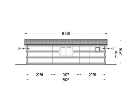 Feriehus Amelia 54 m²