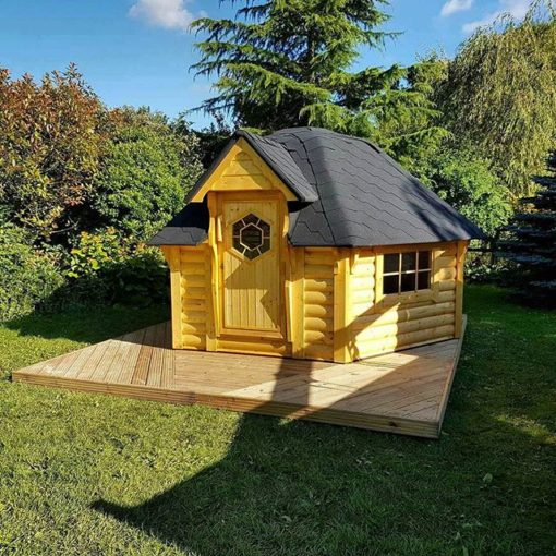 Camping Hytte 9.2 m²