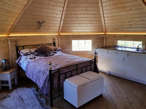 Camping Hytte 16.5 m² med 2 udvidelser