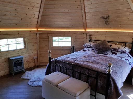 Camping Hytte 16.5 m² med 2 udvidelserCamping Hytte 16.5 m² med 2 udvidelser