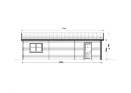 Dobbelt garage 49.9m²