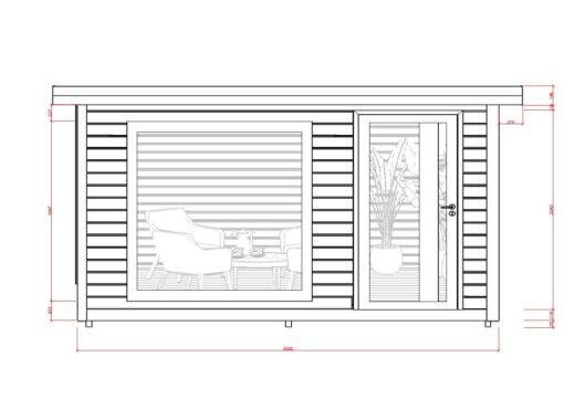 Isoleret hytte Favorit 2