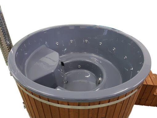 Vildmarksbad Deluxe 2 m (Integreret ovn)