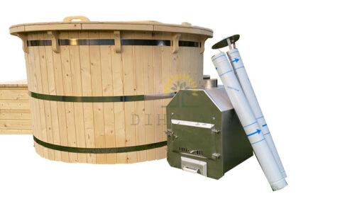 Trævildmarksbad (udvendig ovn)