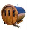 Sauna tønde 2 m Ø 1.9 m