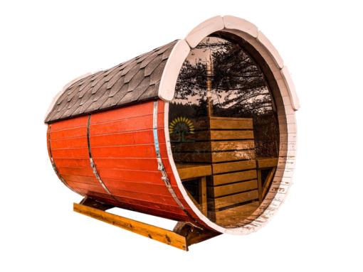 Sauna tønde 2.5 m Ø 2.2 m