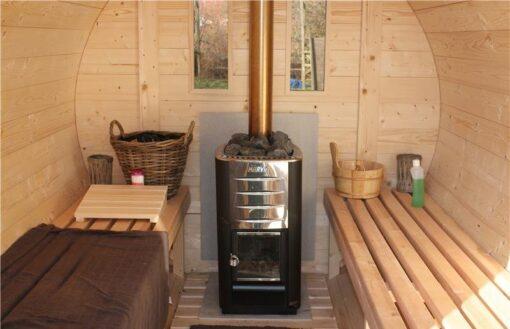Sauna tønde 3 m Ø 2.2
