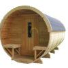Sauna tønde 3.5m Ø 2.2 m
