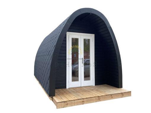 Luksus Isoleret Camping Pod 4 m