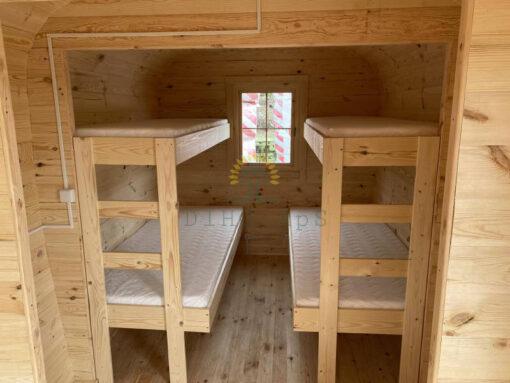 "Camping hytte - ""Bus"" 2.3 m x 4.8 m"